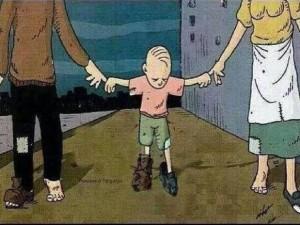 no te quejes de lo que te dan tus padres, quizás es lo único que tienen
